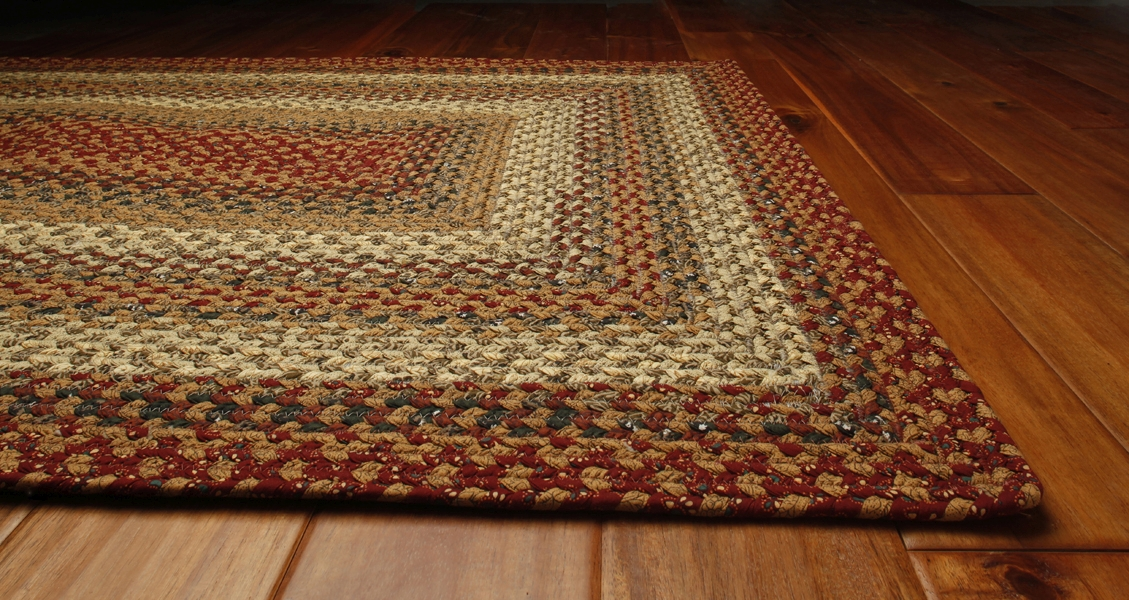 Pumpkin Pie Cotton Rug by Homespice