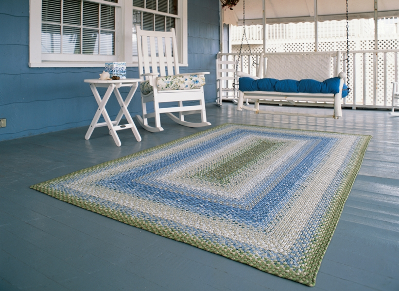 Seascape Cotton Rug by Homespice