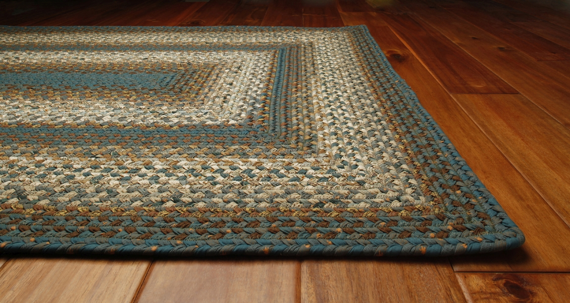 Homespice Cotton Braided Smuggler's Cove Rug