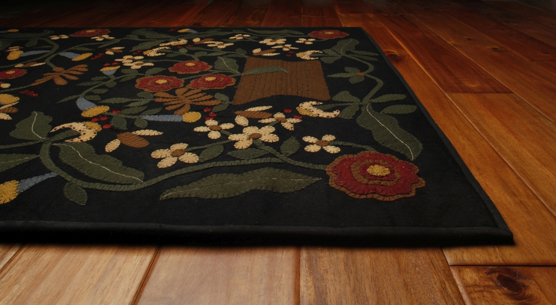 Busy as a Bee Hand Made Rug by Homespice