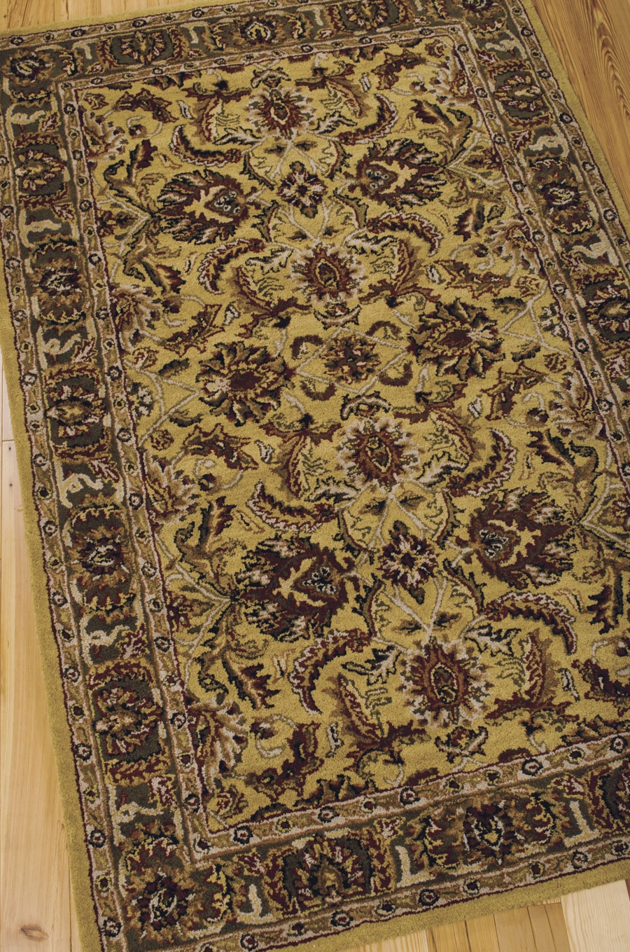 India House IH17 Gold Rug by Nourison
