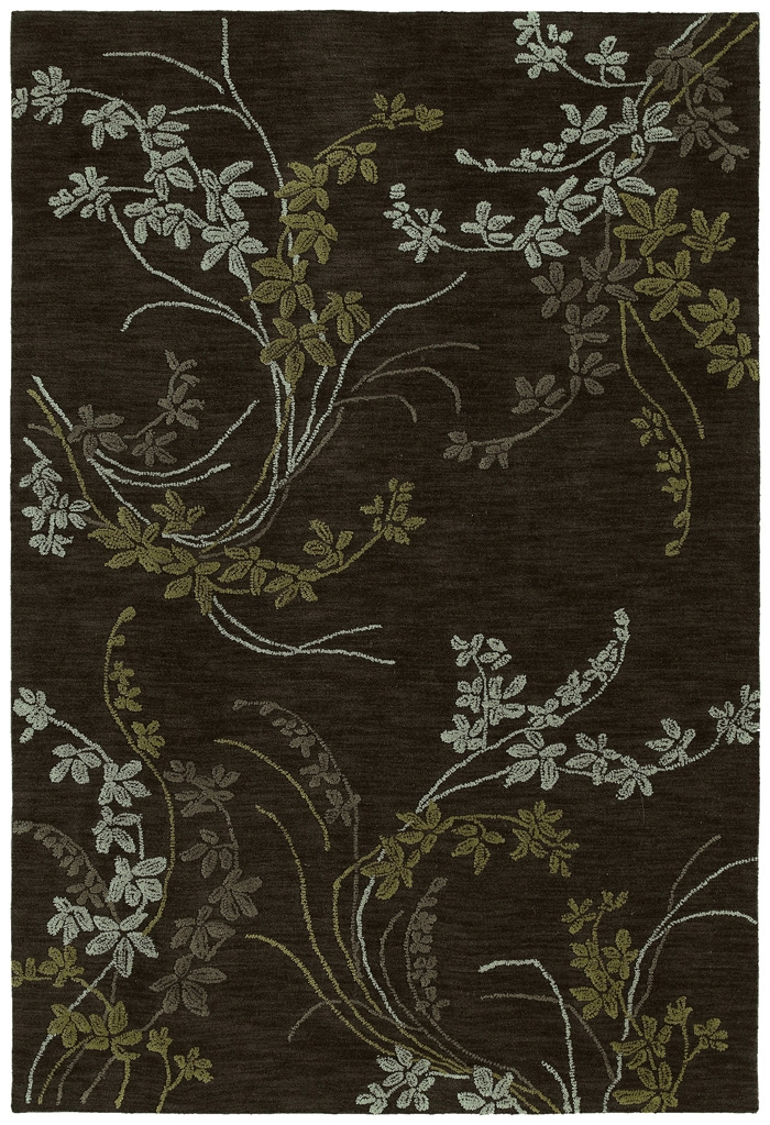 Inspire 6406 40 Vision Chocolate Rug by Kaleen