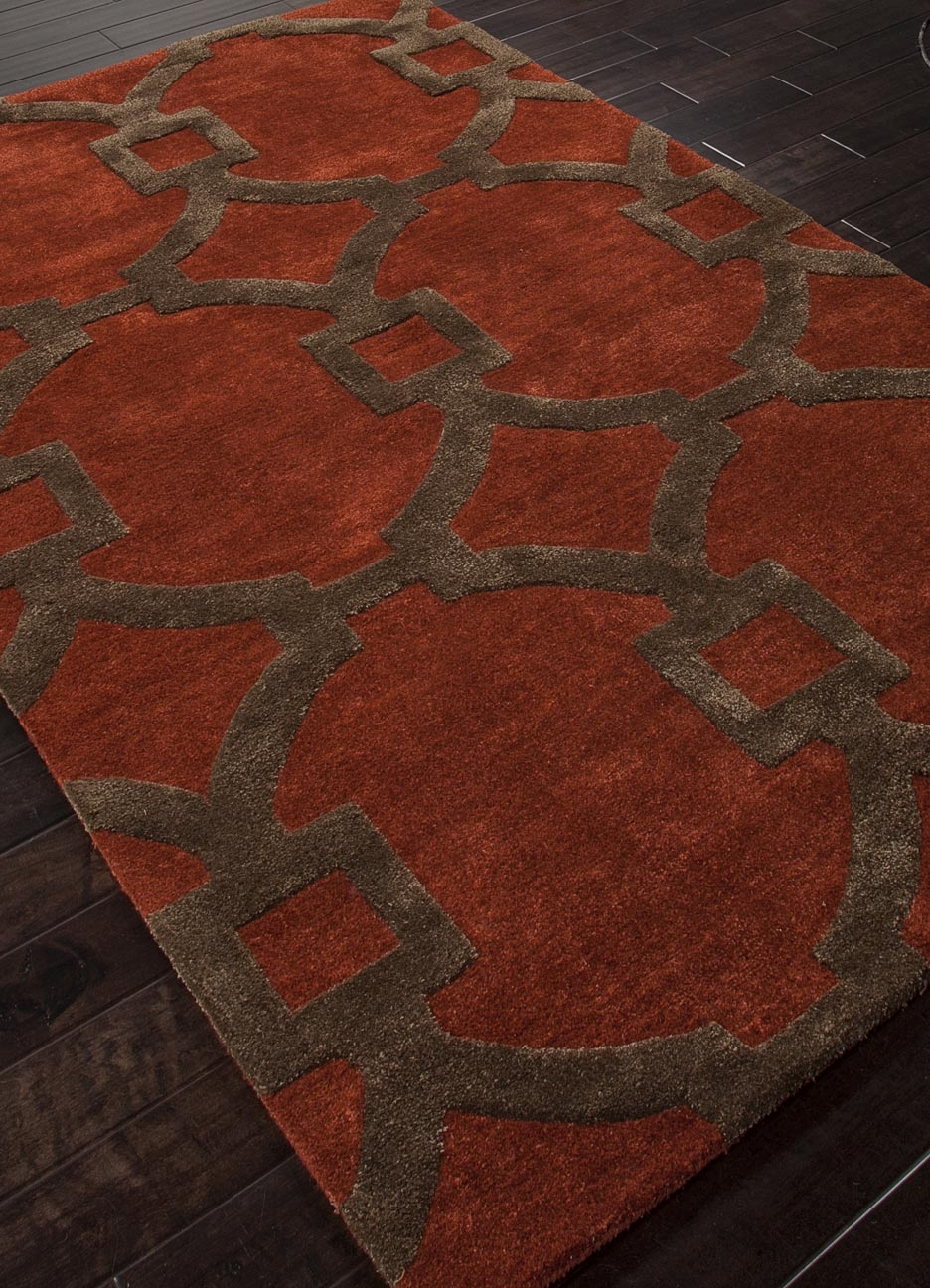 Jaipur City Regency CT04 Red Oxide Rug