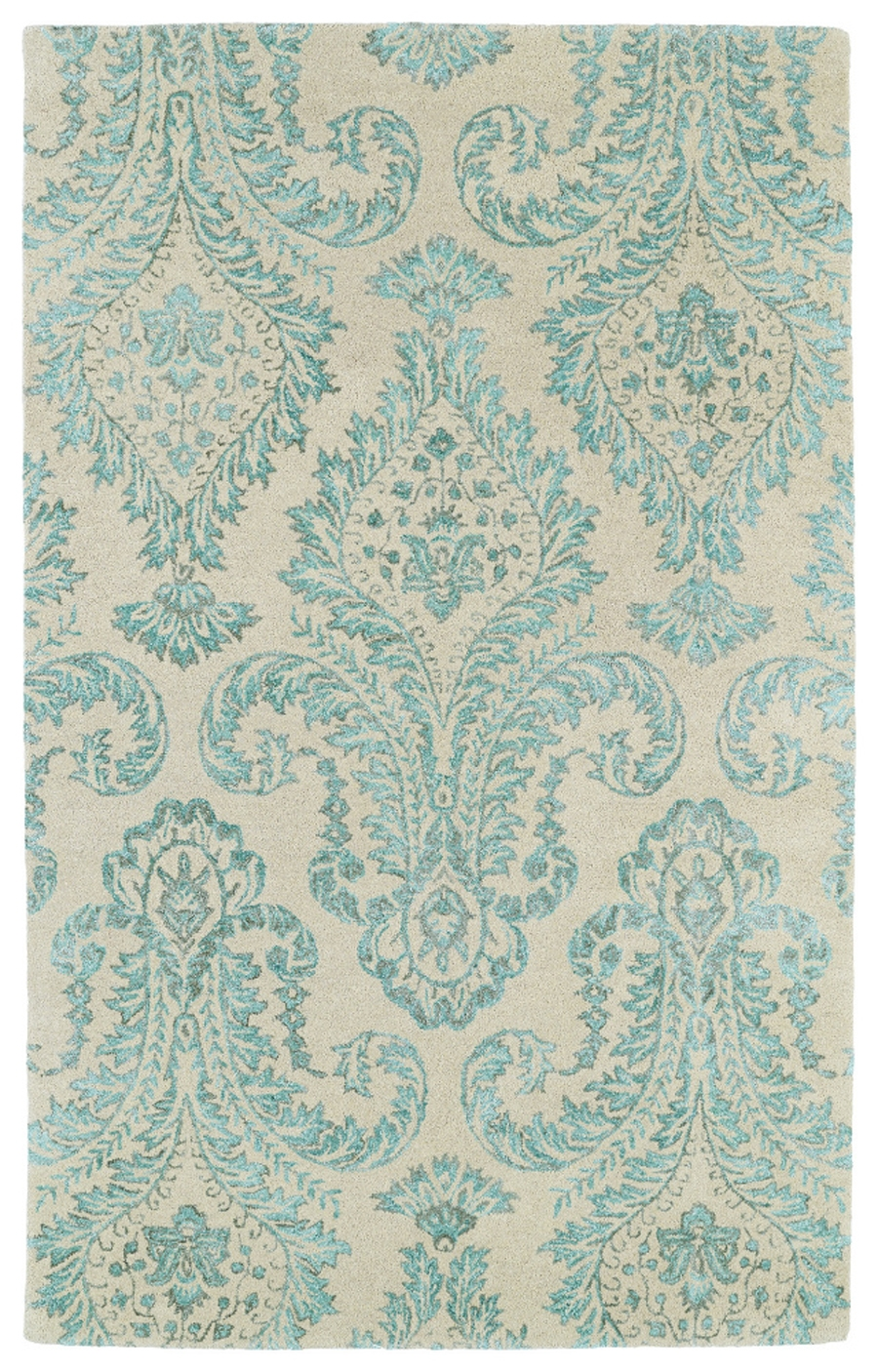 Kaleen divine div06 78 turquoise area rug for Turquoise area rug