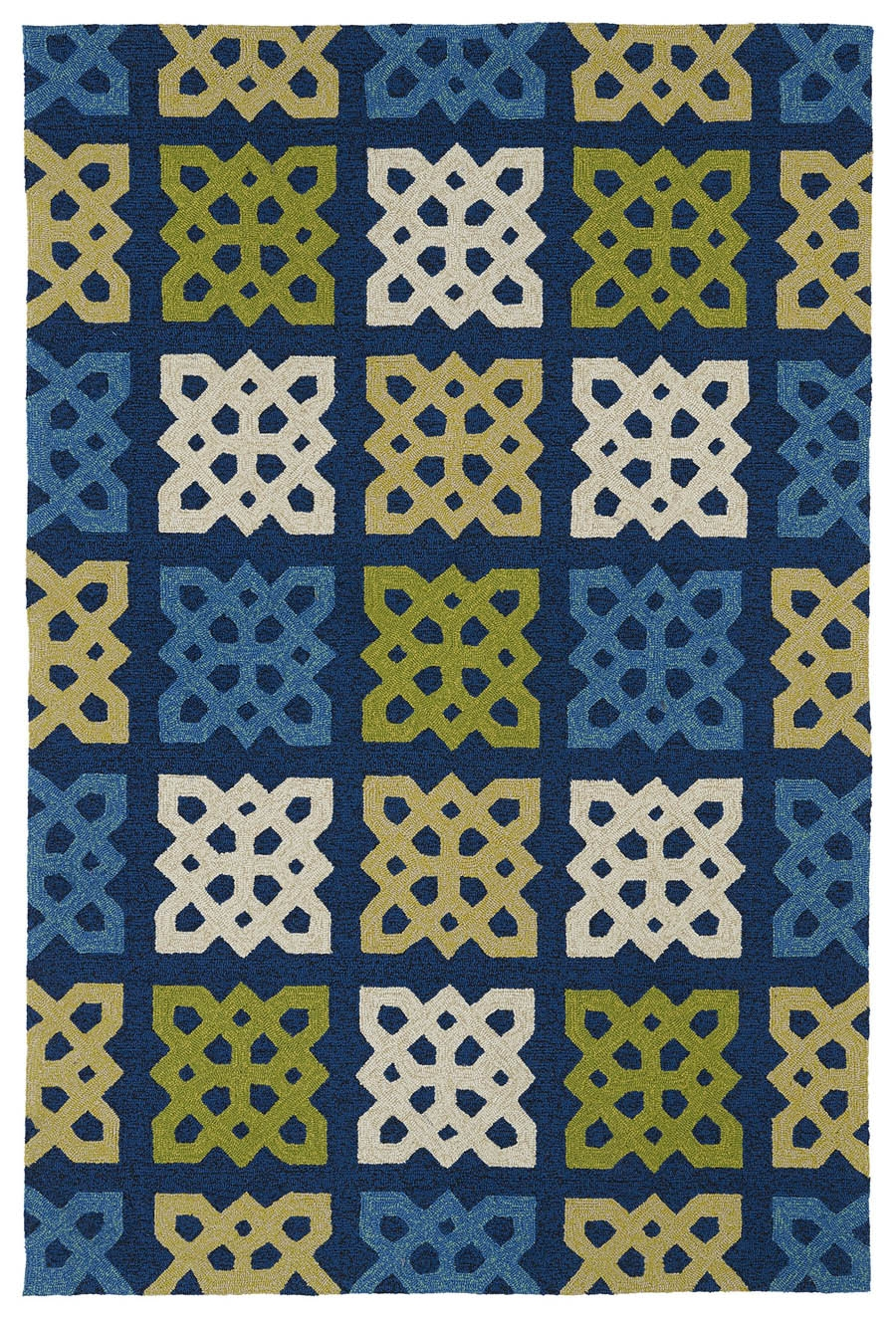 Kaleen Home And Porch 2032 17 Blue Rug