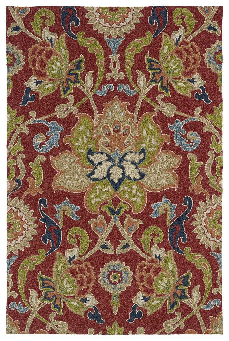 Kaleen Home And Porch 2042 25 Red Rug
