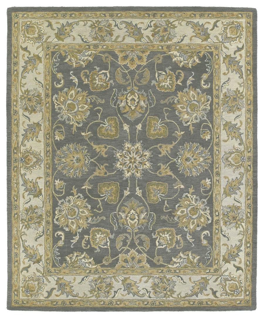 kaleen solomon ezekial 73 pewter rug