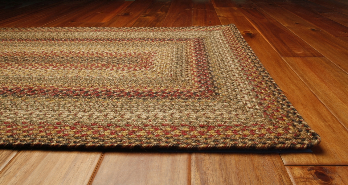 Kingston Braided Rug by Green World & Homespice