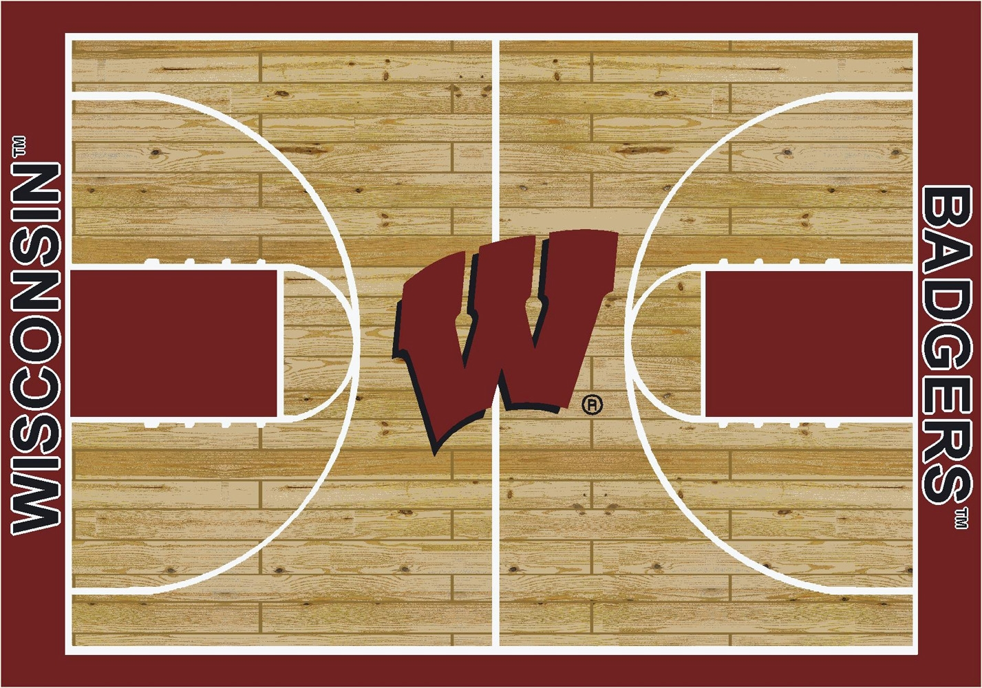 basketball court machine