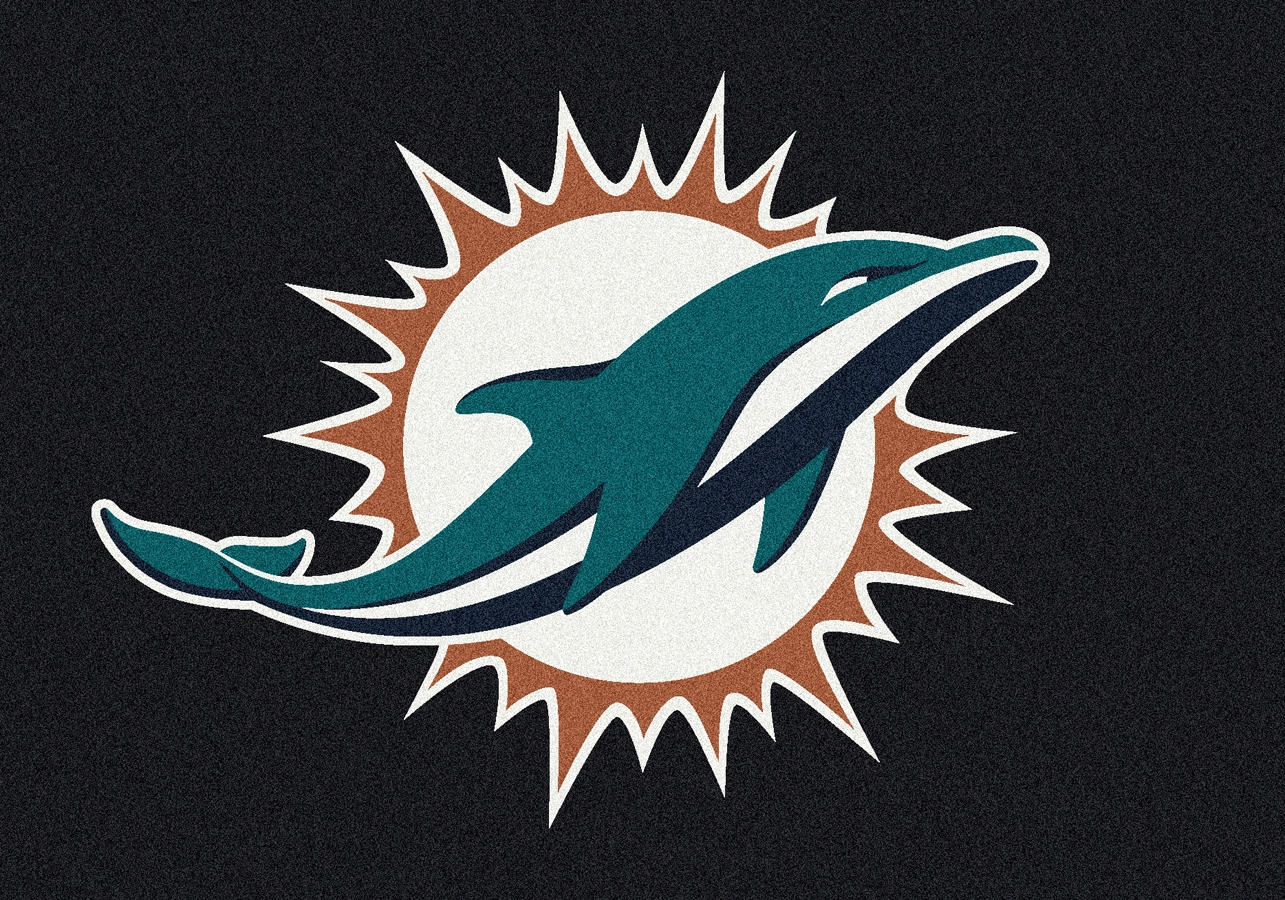 Miami Dolphins Rug