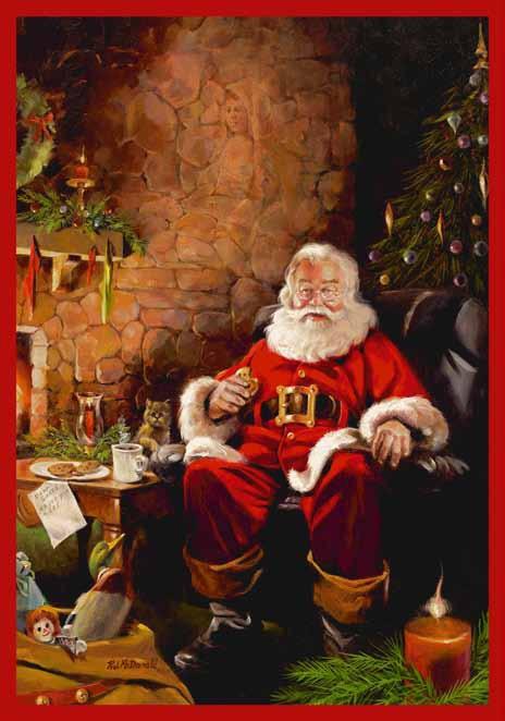 Santa Claus Rug Home Decor