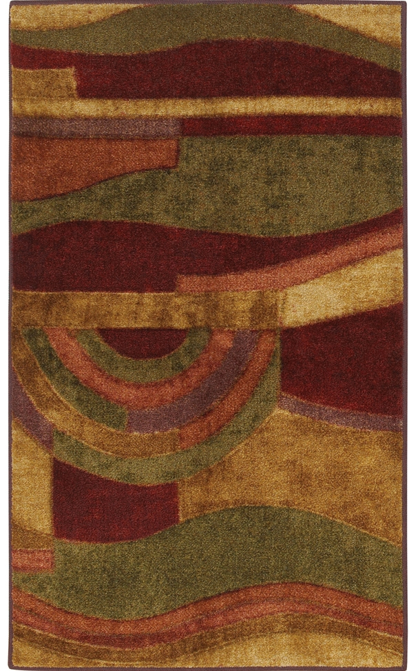 Mohawk New Wave 10465 438 Picasso Wine Rug