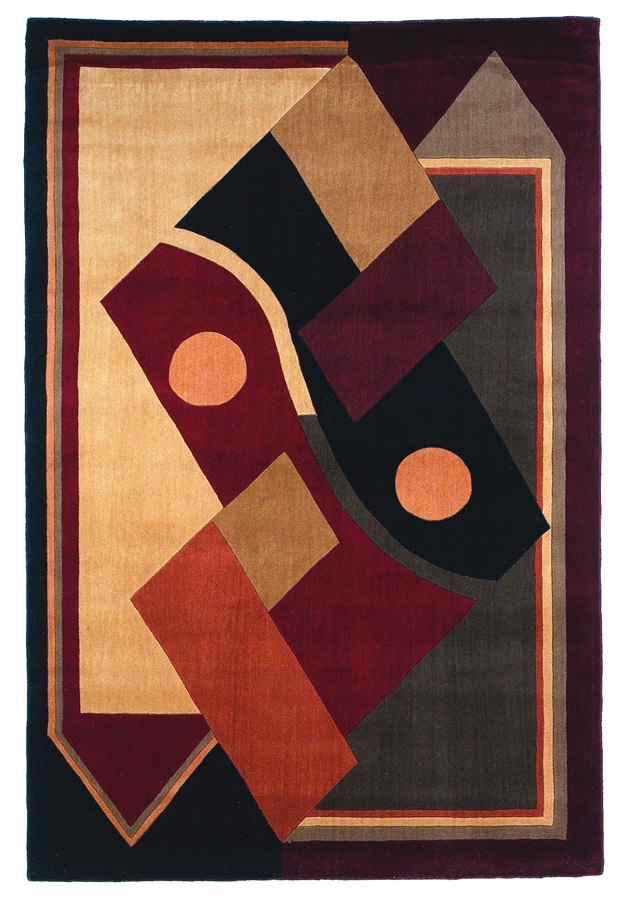 New Dimensions ND39 Multi Hand Tufted Hand Carved 100% Wool Payless Rugs