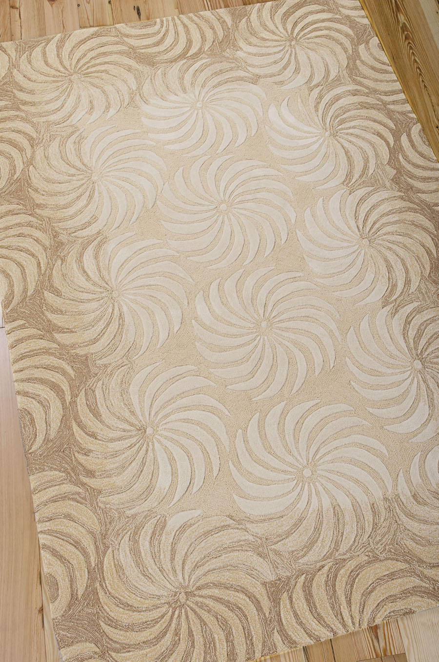 Contour CON07 Taupe Rug by Nourison
