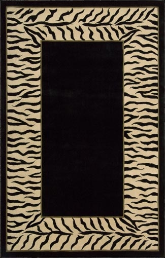 Dimensions ND25 Black Rug by Nourison