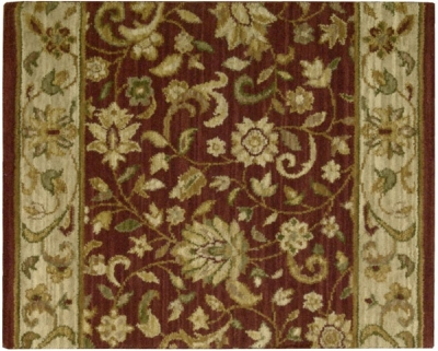 Estate Sagamore Crimson Carpet Stair Runner