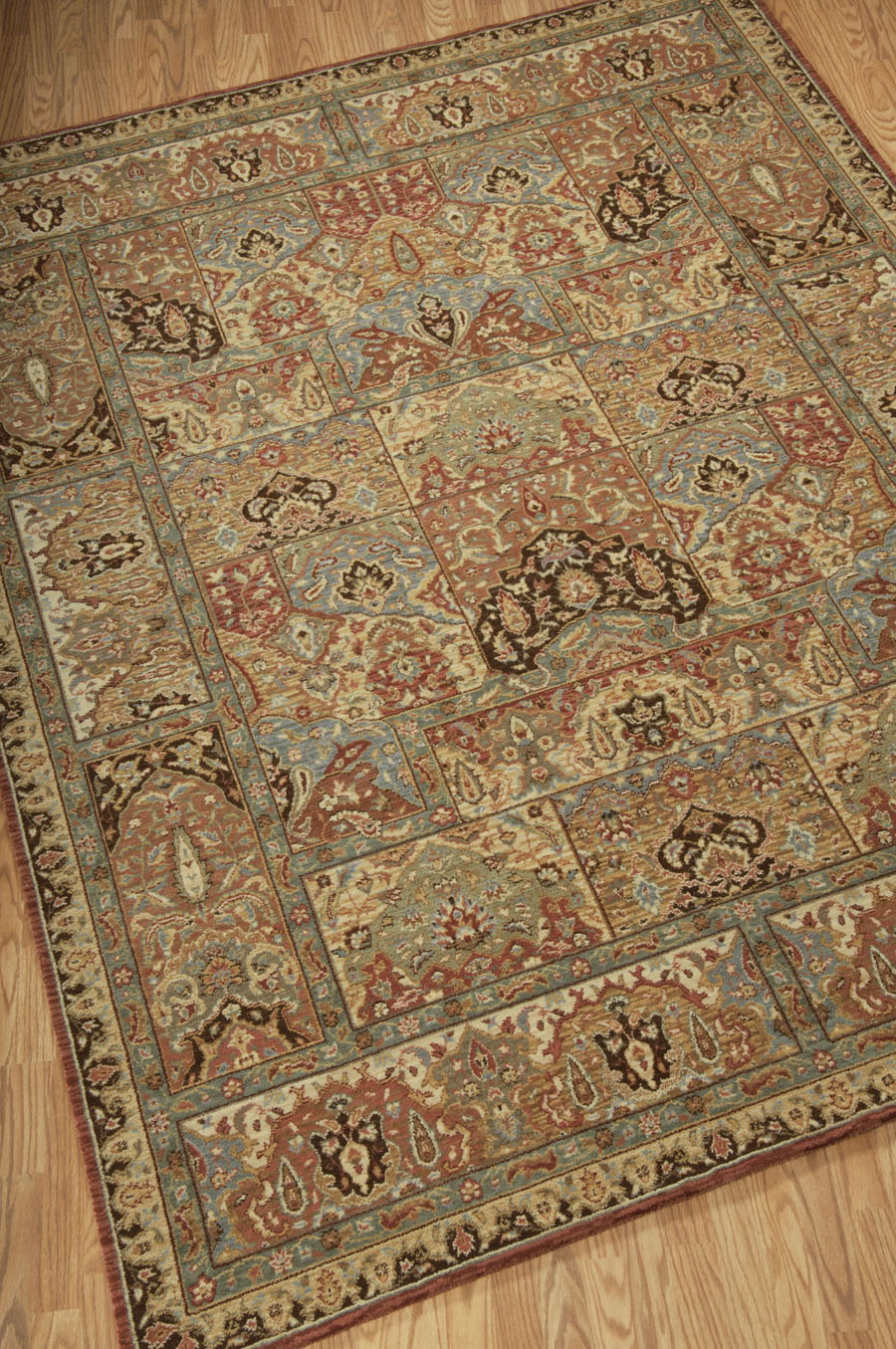 living treasures li02 multi rug by nourison - Nourison Rugs