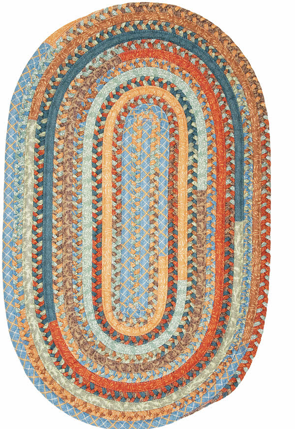 Olivera OV59 Vintage Blue Rug by Colonial Mills