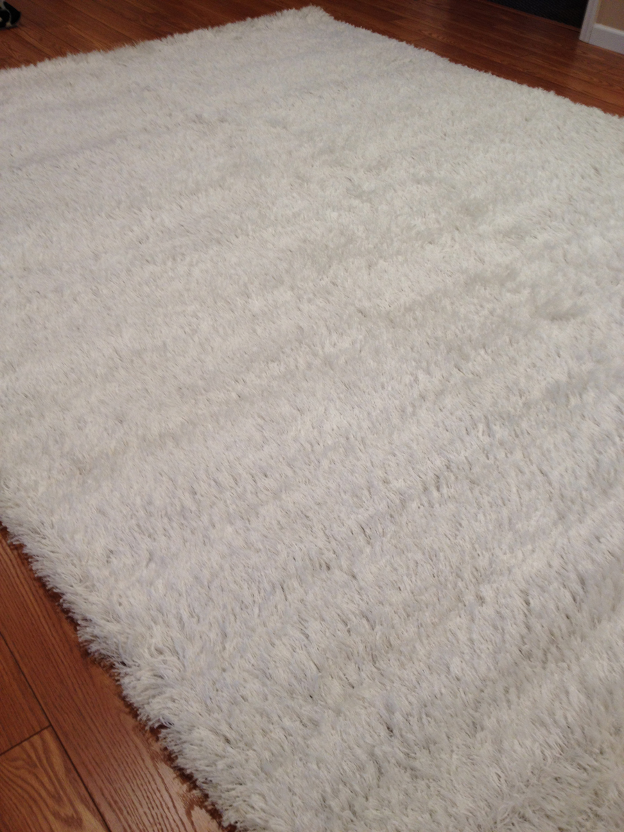 Payless Rugs Clearance Conrad White Rug - 8 ft x 10 ft