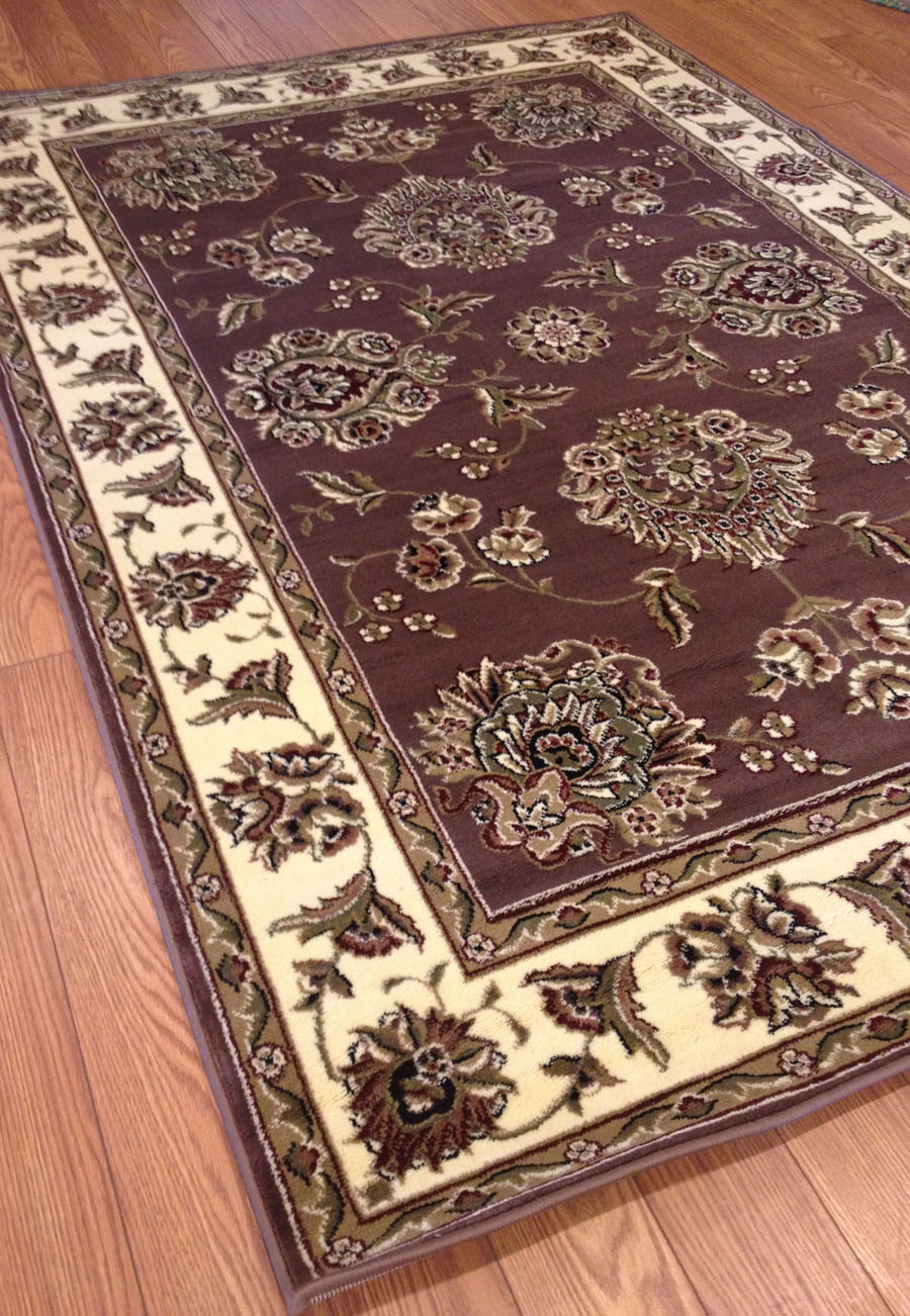 Payless Rugs Clearance Royal Plum Rug 5 ft 3 in x 7 ft 7 in