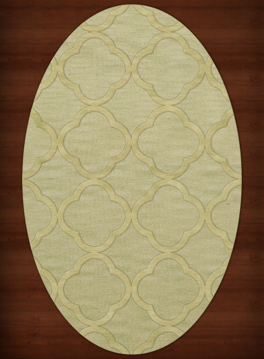 Payless Troy Tr8 118 Mint Oval Rug