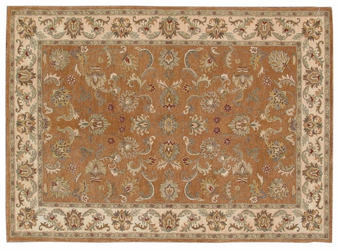 Heritage 52201D Peach 100% Wool Hand Tufted Fine twisted Luster Wash Payless Rugs