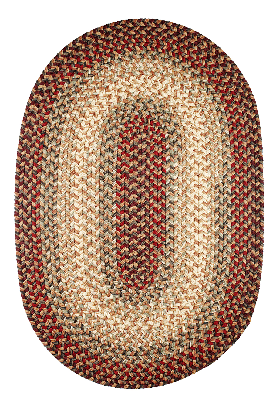 Rhody easy living el73 spanish red area rug for Easy rugs