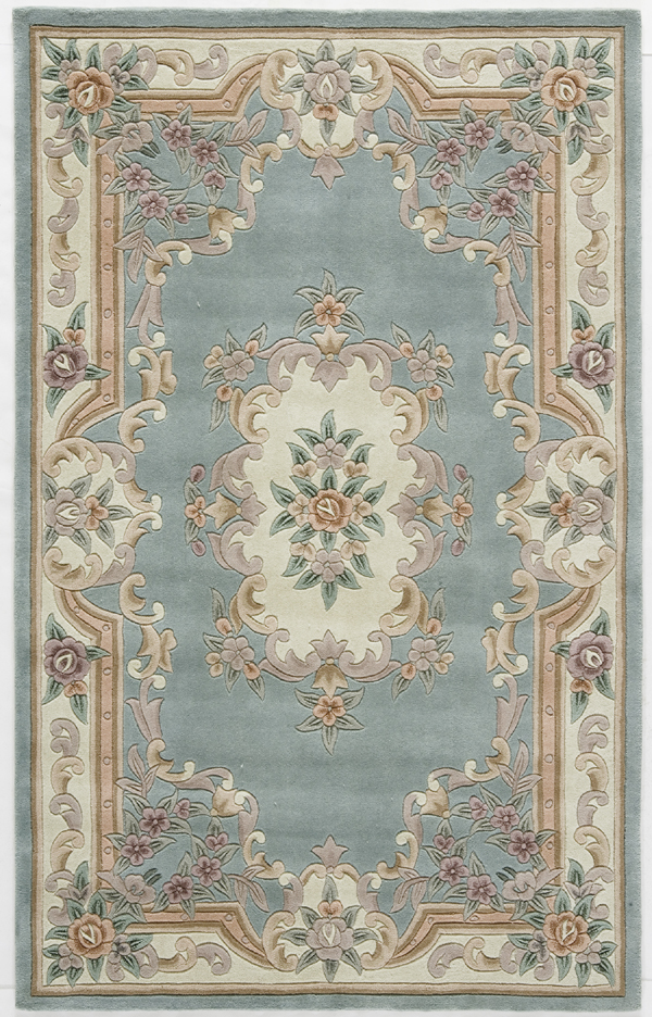 Rugs America New Aubusson 510 292 Light Green