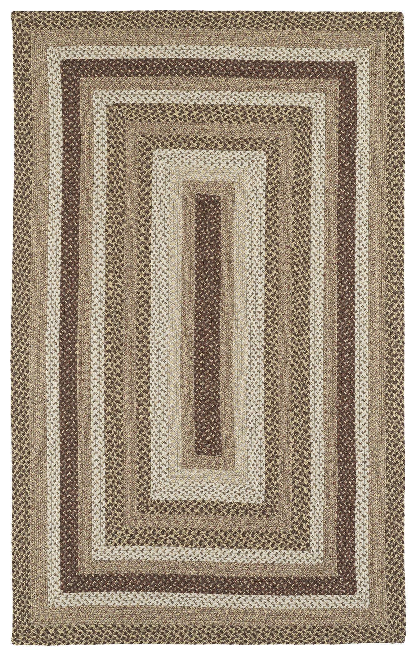Bimini 3010 60 Mocha Outdoor Rug by Kaleen