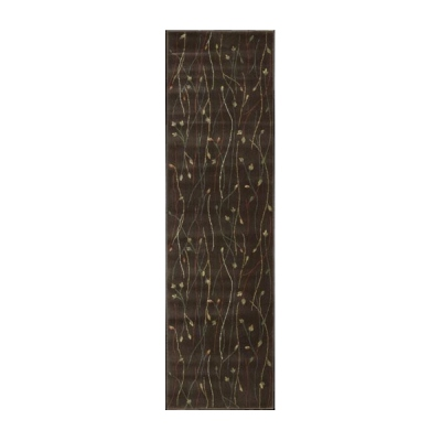 Nourison Cambridge Cg04 Chocolate Runner