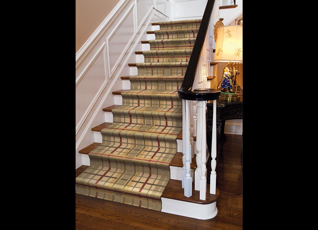 Startone Sr 22 Ivory Carpet Stair Runner