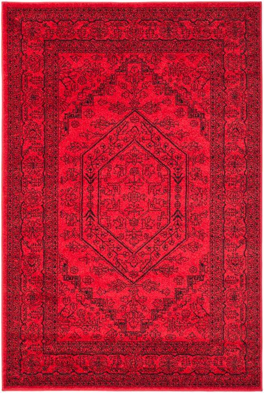 safavieh adirondack adr108f red black area rug