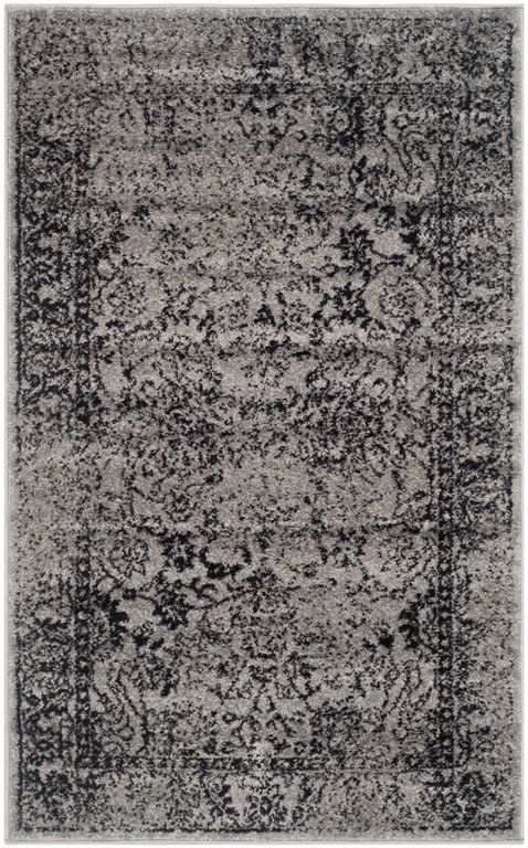 Black Area Rugs safavieh adirondack adr109b grey black area rug