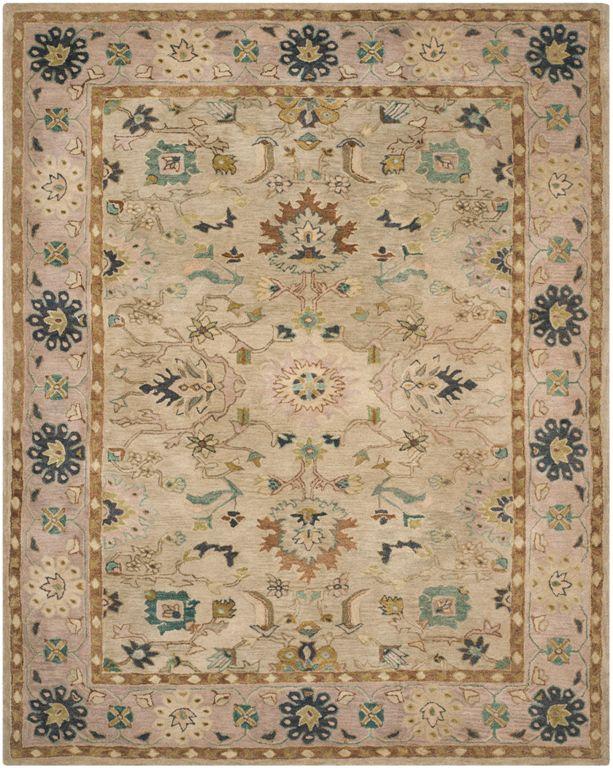 Safavieh anatolia an585b ivory beige area rug for Safavieh rugs