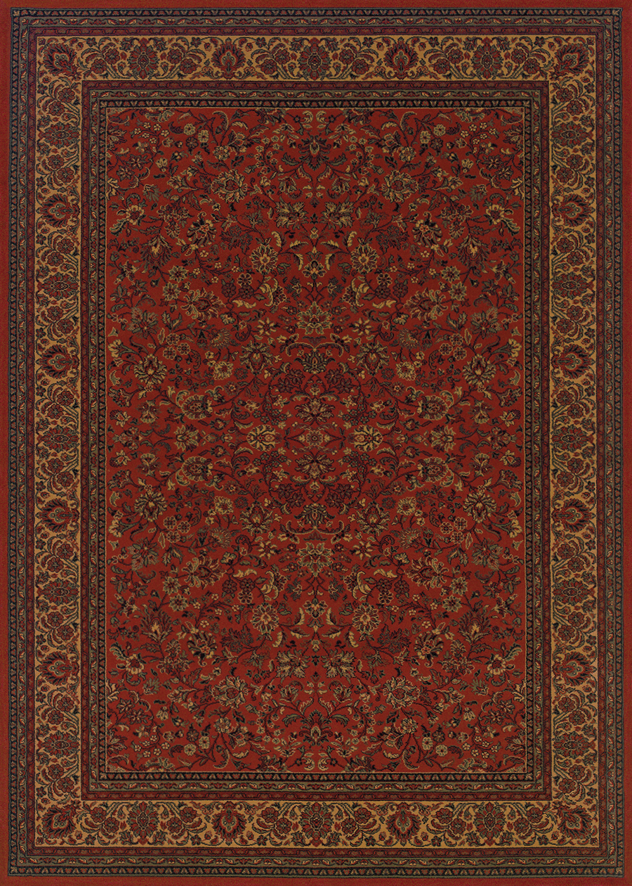 Isfahan Crimson 3791/4872 Everest Rug by Couristan