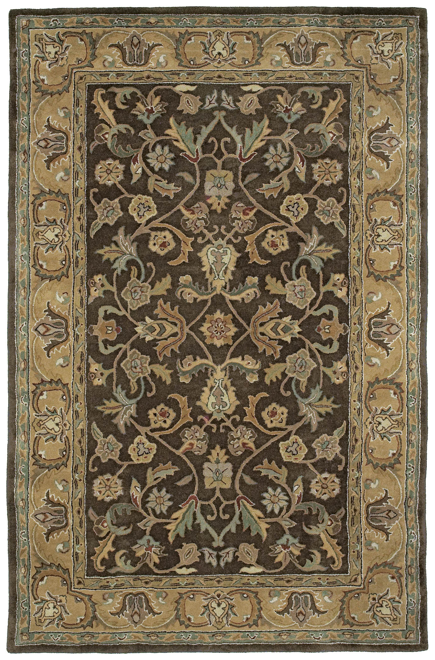 William Chocolate 6001-40 Mystic Rug by Kaleen