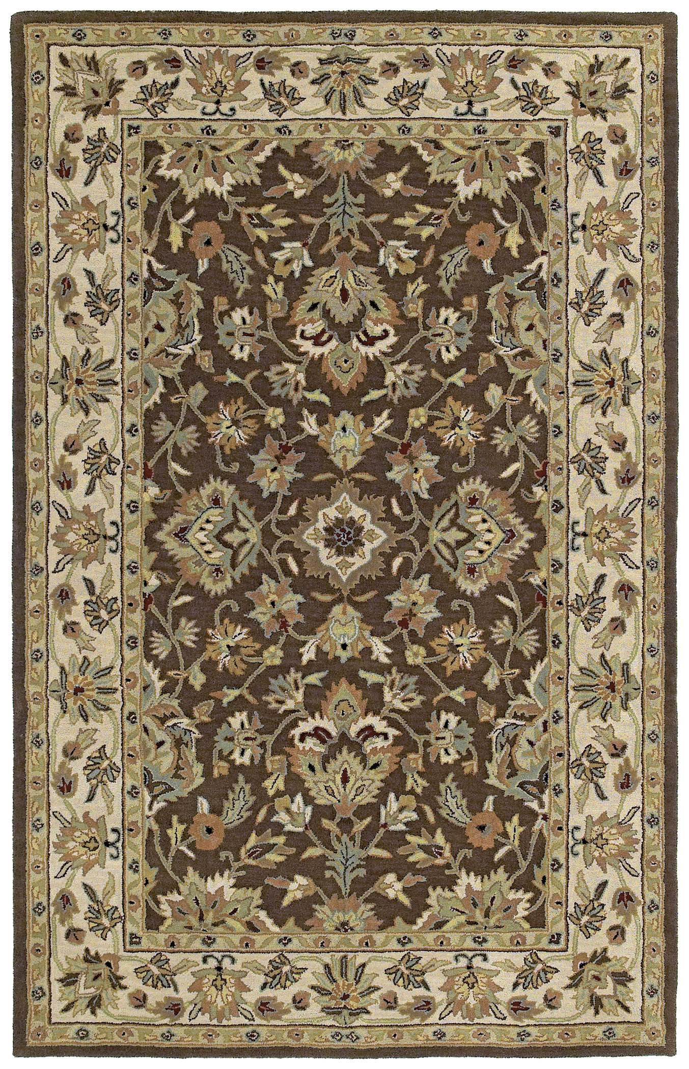 Khazana 6561 St. George Chocolate 40 Rug by Kaleen