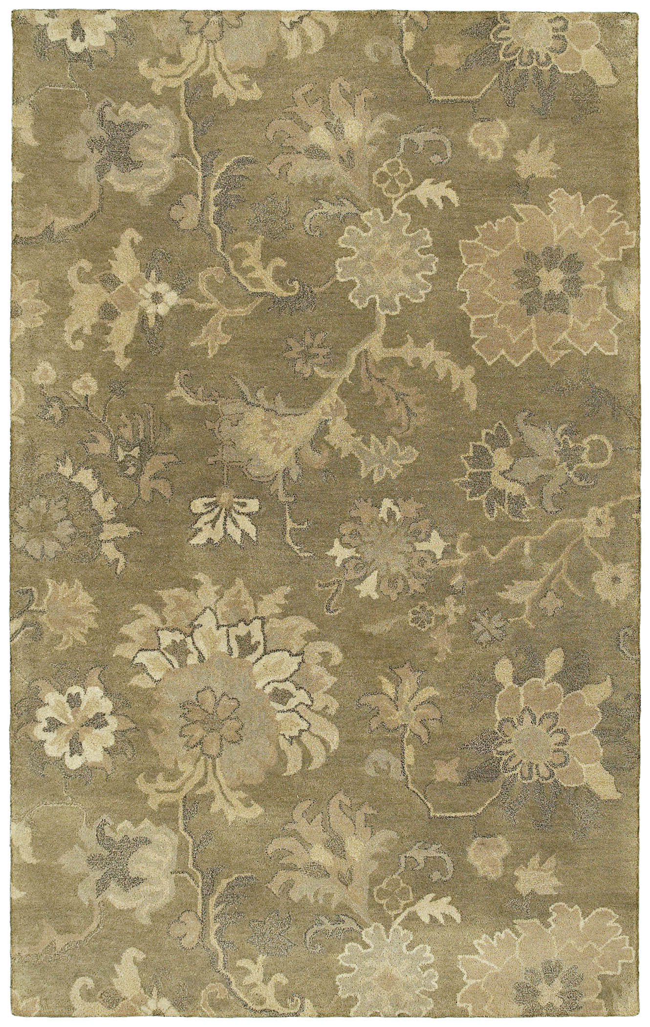 Magi 7201 Rose of Lebanon 59 Sage Rug by Kaleen
