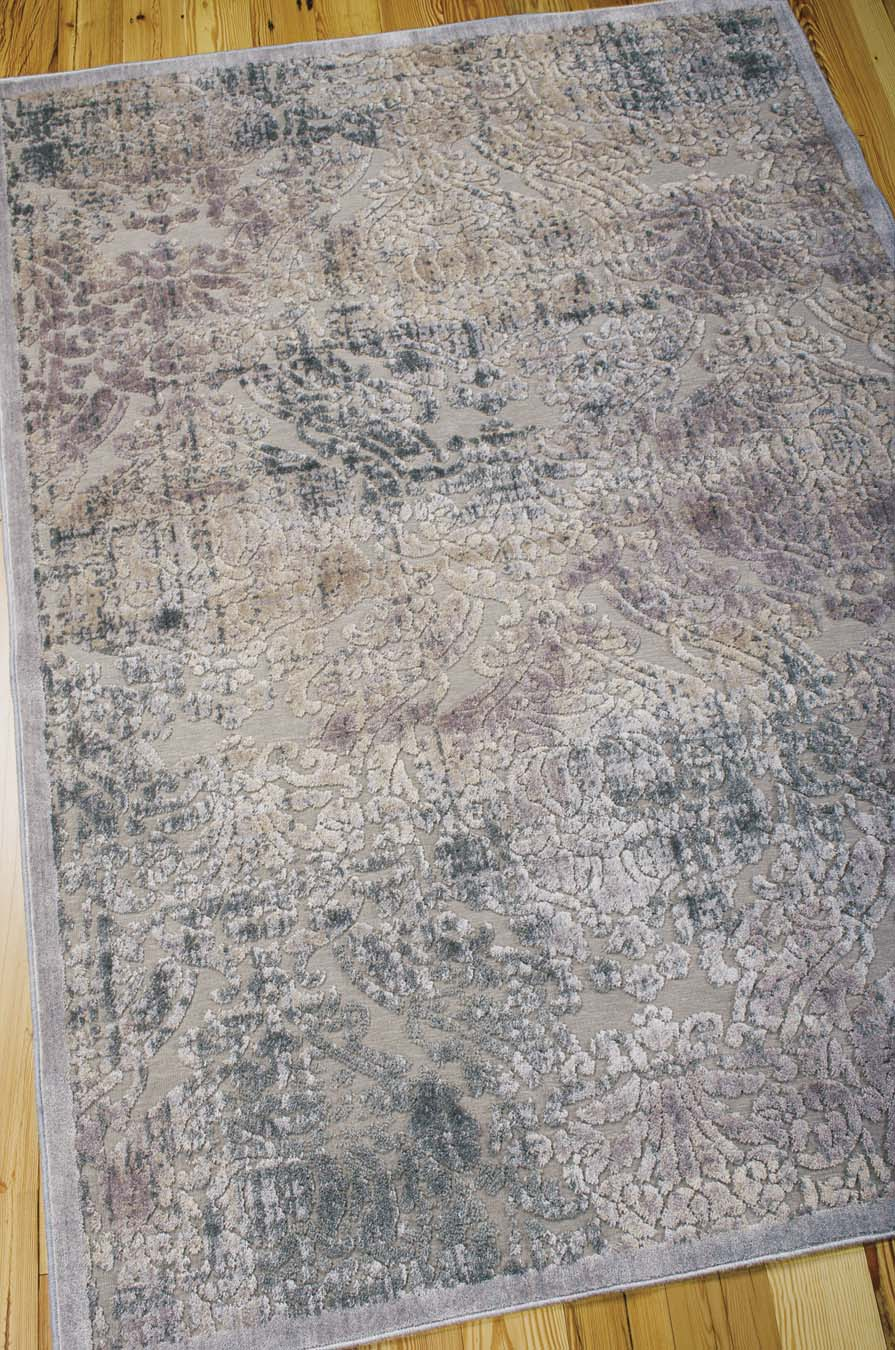 Nourison Graphic Illusions GIL09 Grey Rug