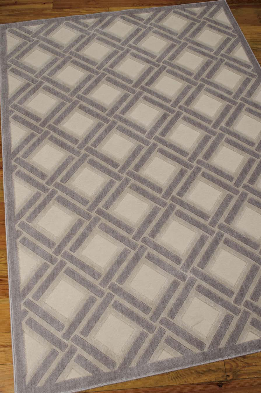 Nourison Graphic Illusions GIL21 Ivory Rug