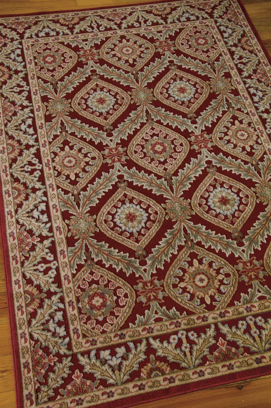 Nourison Graphic Illusions GIL24 Red Rug