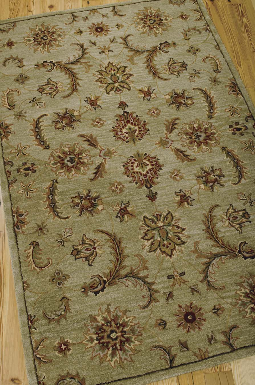 nourison india house ih83 light green rug - Nourison Rugs