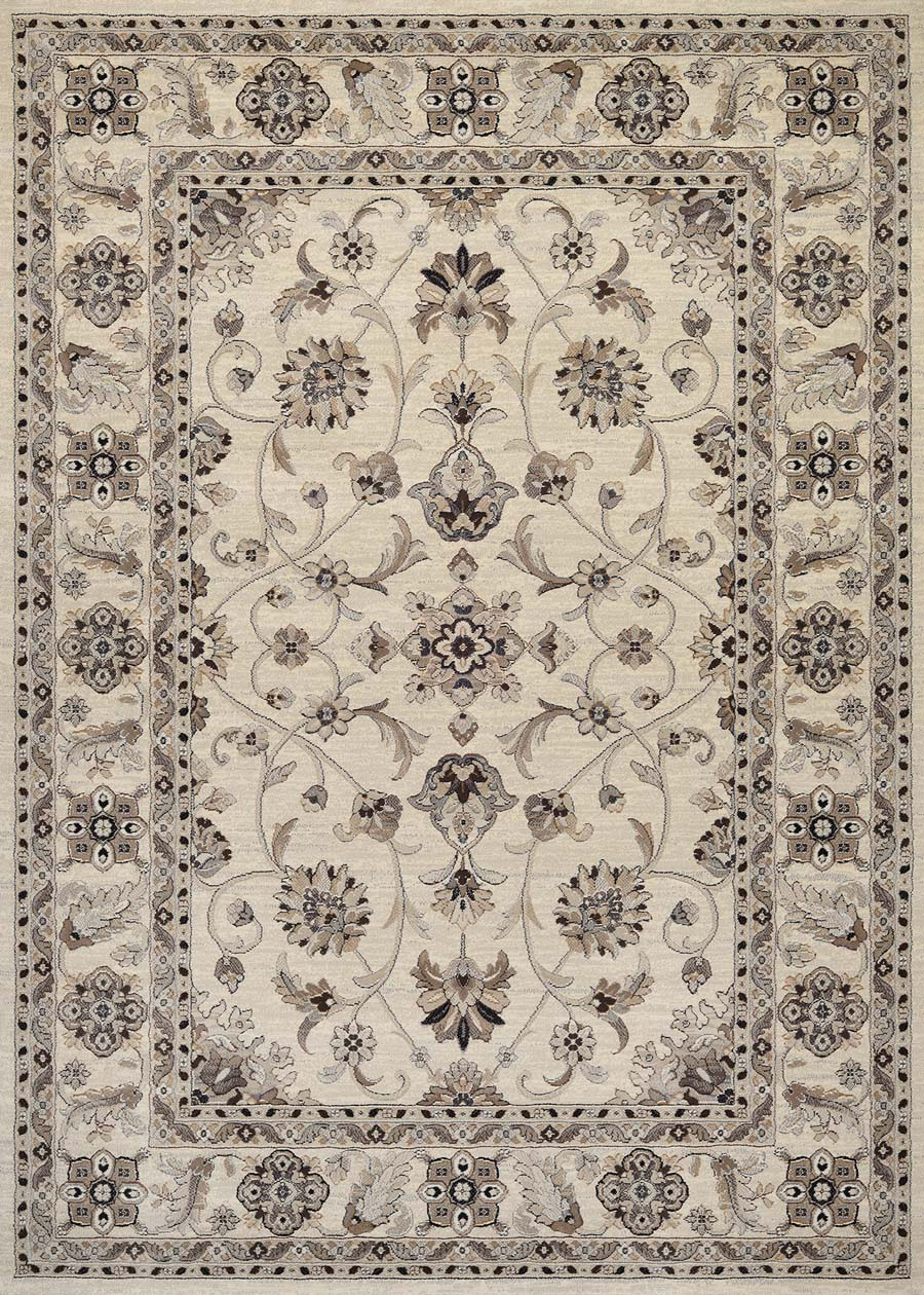 Couristan Everest 8972/6322 Rosetta Ivory Rug