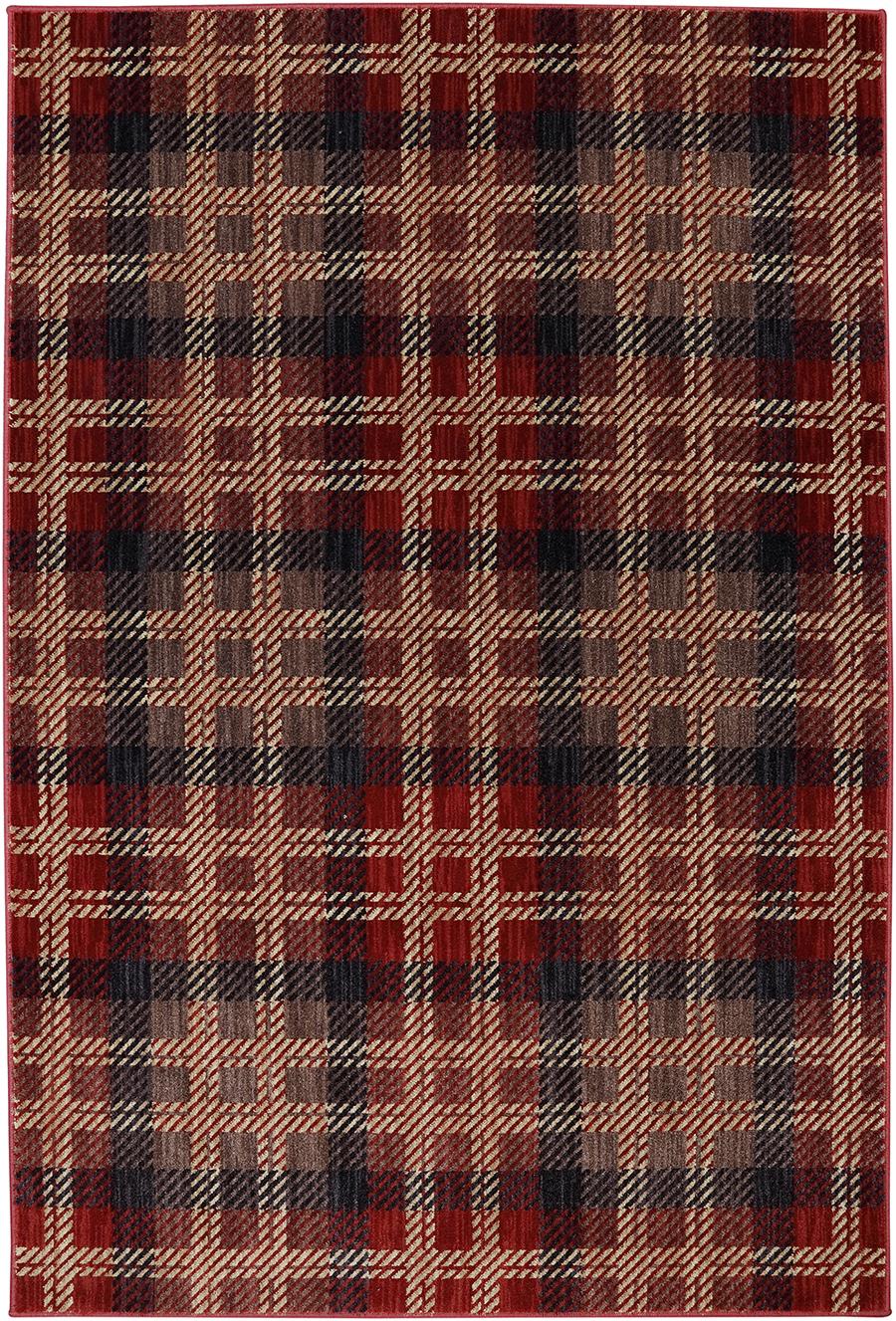American Rug Craftsmen Dryden 90294 37001 Billings Crimson Rug