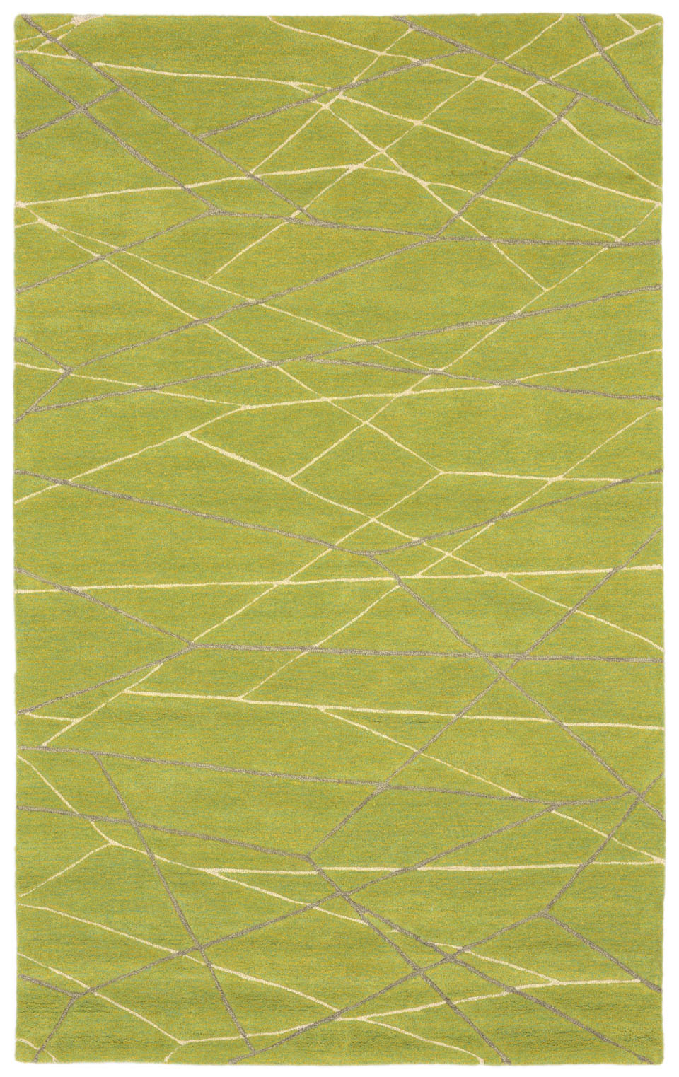 Transocean Seville 9684/06 Lines Green Rug