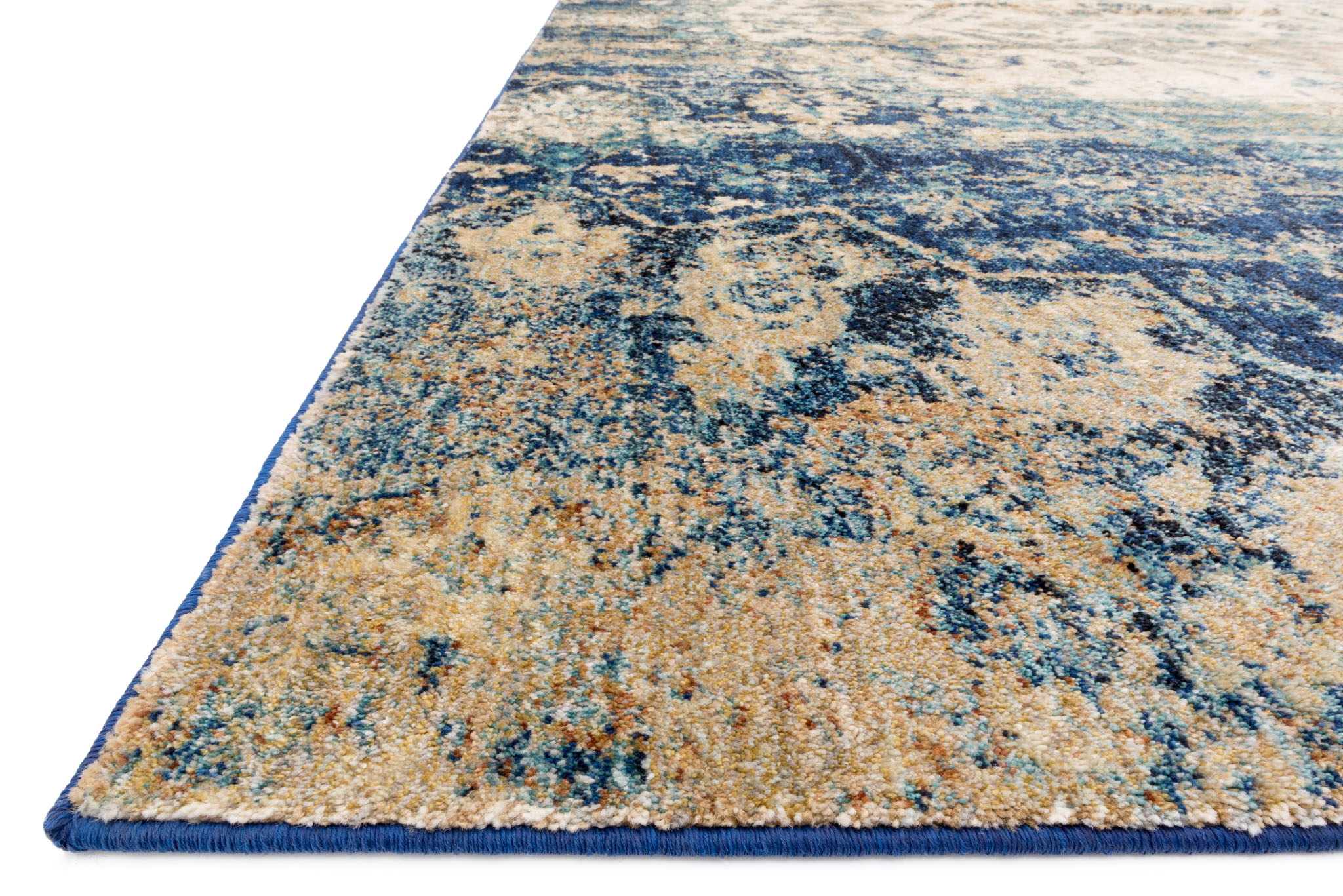 Loloi Anastasia Rug Blue Ivory Area Rug Payless Rugs