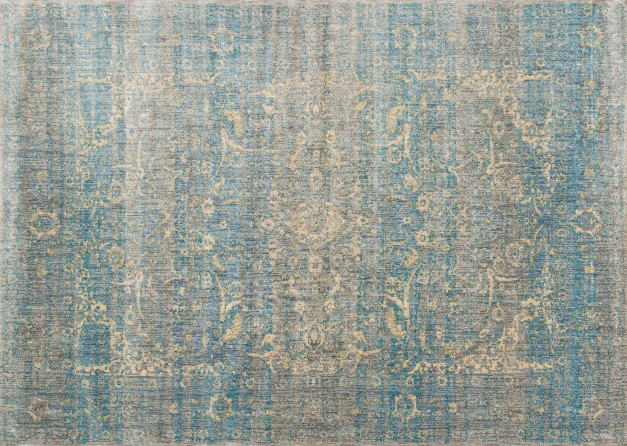 Loloi Anastasia Af 10 Light Blue Mist Rug