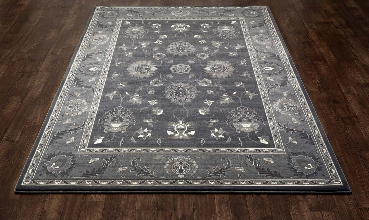 Jewel Simply Open Gray Rug