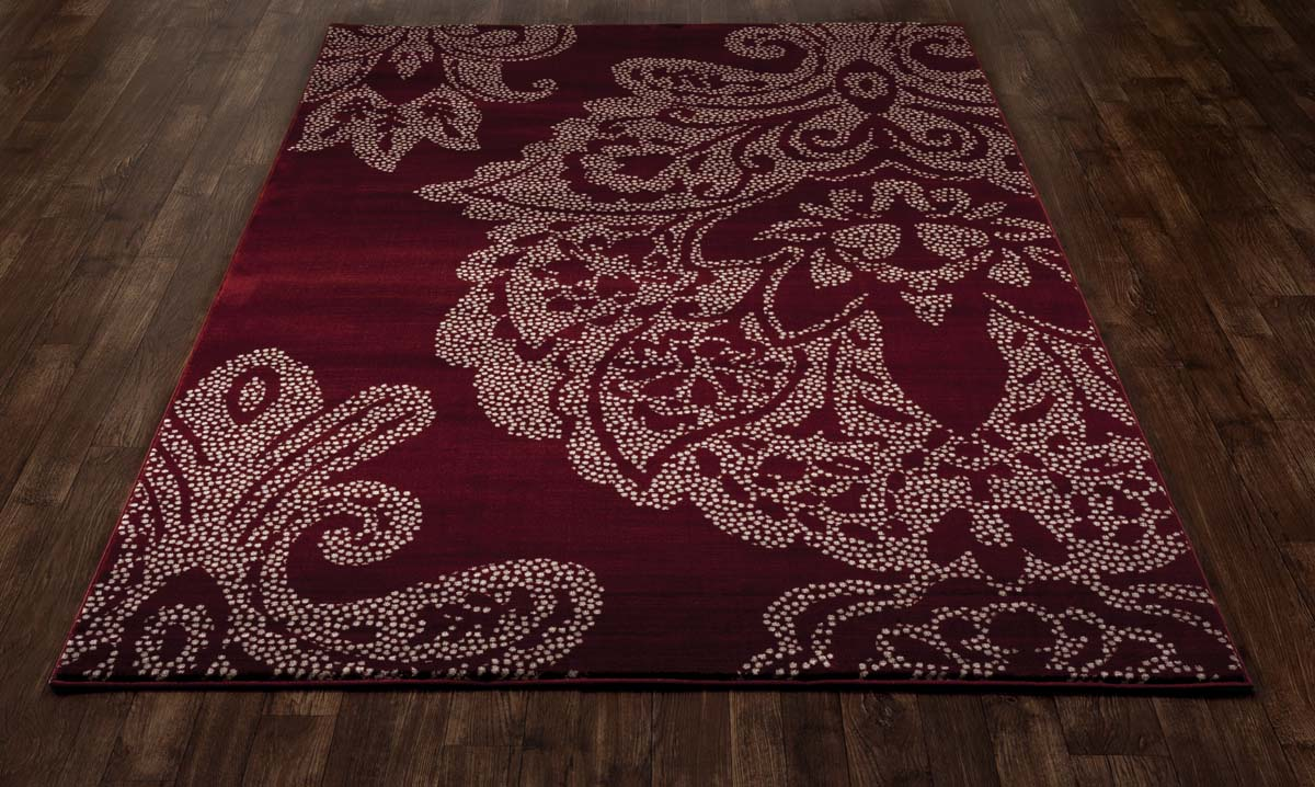 regency large damask red rug. Black Bedroom Furniture Sets. Home Design Ideas