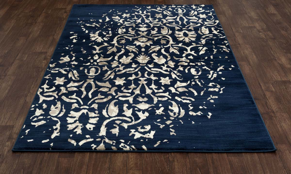 Heritage Isabella Peacock Blue Rug
